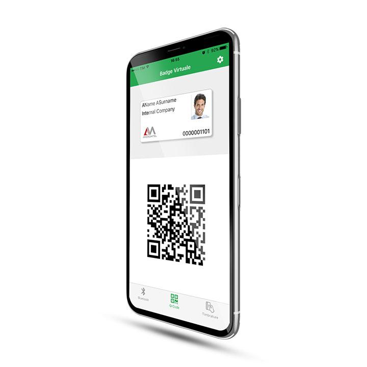MicronApp: badge virtuale con smartphone