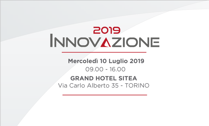 Innovazione 2019 - 10 Luglio 2019